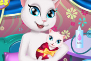 game Talking Angela Baby Caring