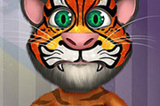 game Talking Tom Face Tattoo