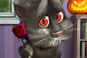 game Talking Tom Halloween Fun