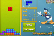 game Tetris with Donald