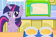 game Twilight Sparkle Cooking Cupcakes