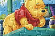 game Winnie The Pooh Home Jigsaw Puzzle