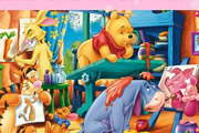 game Winnie the Pooh Puzzle Mix Up